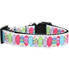 Mirage Pet Products Easter Egg Nylon Ribbon Dog Collar XL