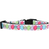 Mirage Pet Products Easter Egg Nylon Ribbon Dog Collar Medium Narrow