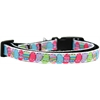 Mirage Pet Products Easter Egg Nylon Ribbon Dog Collar XS