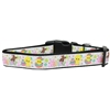 Mirage Pet Products Happy Easter Nylon Dog Collar Large