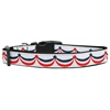 Mirage Pet Products American Swag Nylon Dog Collar Medium