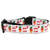 Mirage Pet Products Aloha Cutie Nylon Ribbon Dog Collar XL
