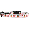 Mirage Pet Products Aloha Cutie Nylon Ribbon Dog Collar Medium Narrow