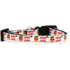 Mirage Pet Products Aloha Cutie Nylon Ribbon Dog Collar XS