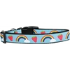 Mirage Pet Products Rainbows and Berries Nylon Dog Collar Large