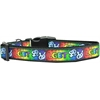 Mirage Pet Products LGBT Nylon Dog Collar Large