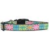 Mirage Pet Products Multi-Color UK Flag Nylon Dog Collar Medium