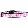 Mirage Pet Products Oh La La Paris Nylon Dog Collar Large