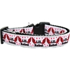 Mirage Pet Products Lil' Rebel Nylon Ribbon Dog Collar XL