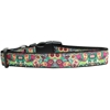 Mirage Pet Products Turquoise Paisley Nylon Dog Collar Large