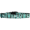 Mirage Pet Products Hannukah Festival of Lights Nylon Dog Collar Medium
