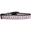 Mirage Pet Products Party Monsters Nylon Dog Collar Large