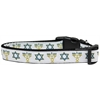 Mirage Pet Products Jewish Traditions Nylon Dog Collar Medium