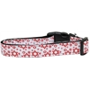 Mirage Pet Products Red Star of David Nylon Dog Collar Medium