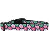 Mirage Pet Products Anchor Candy Hearts Nylon Dog Collar Medium