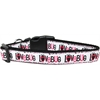 Mirage Pet Products Love Bug Nylon Dog Collar Medium