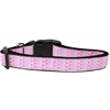 Mirage Pet Products Many Mini Hearts Nylon Dog Collar Large
