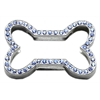 "Mirage Pet Products 3/4"" Slider Bone Charm Blue 3/4"" (18mm)"