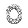 """Mirage Pet Products 3/4"""" (18mm) Clear Letter Sliding Charms O 3/4 (18mm)"""