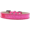 Mirage Pet Products Tulsa Plain Ice Cream Dog Collar Pink Size 16