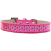 Mirage Pet Products Sprinkles Ice Cream Dog Collar Purple Crystals Size 12 Pink