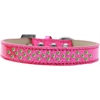 Mirage Pet Products Sprinkles Ice Cream Dog Collar Lime Green Crystals Size 14 Pink