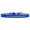Mirage Pet Products Clear Crystal Size 14 Blue Puppy Ice Cream Collar