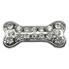 "Mirage Pet Products 3/8"" Slider Bone Charm Clear 3/8"""