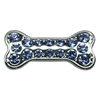 "Mirage Pet Products 3/8"" Slider Bone Charm Light Blue 3/8"""