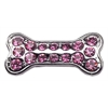 "Mirage Pet Products 3/8"" Slider Bone Charm Pink 3/8"""
