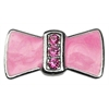"Mirage Pet Products 3/8"" Enamel Bow Charm Pink 3/8"" (10mm)"