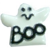 "Mirage Pet Products 3/8"" (10mm) Halloween Slider Charms Ghost 3/8"" (10mm)"