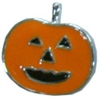 "Mirage Pet Products 3/8"" (10mm) Halloween Slider Charms Pumpkin 3/8"" (10mm)"