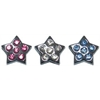 "Mirage Pet Products 3/8"" Slider Star Charm Clear 3/8"""