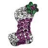Mirage Pet Products Pink and Purple Stocking Charms Purple