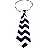 Mirage Pet Products Big Dog Neck Tie Chevron Black