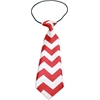 Mirage Pet Products Big Dog Neck Tie Chevron Red