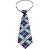 Mirage Pet Products Big Dog Neck Tie Plaid Mix