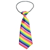 Mirage Pet Products Big Dog Neck Tie Rainbow