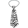 Mirage Pet Products Big Dog Neck Tie Zebra
