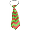 Mirage Pet Products Christmas Chevron Big Dog Neck Tie