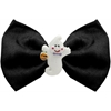 Mirage Pet Products Ghost Chipper Black Pet Bow Tie