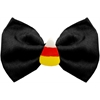 Mirage Pet Products Candy Corn Chipper Black Pet Bow Tie