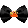Mirage Pet Products Reindeer Chipper Black Pet Bow Tie