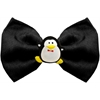 Mirage Pet Products Penguin Chipper Black Pet Bow Tie