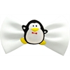 Mirage Pet Products Penguin Chipper White Pet Bow Tie