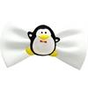 Mirage Pet Products Penguin Chipper White Pet Bow Tie