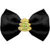 Mirage Pet Products Christmas Tree Chipper Black Pet Bow Tie