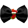 Mirage Pet Products Stocking Chipper Black Pet Bow Tie