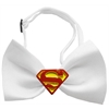 Mirage Pet Products Traditional Super Chipper White Bow Tie